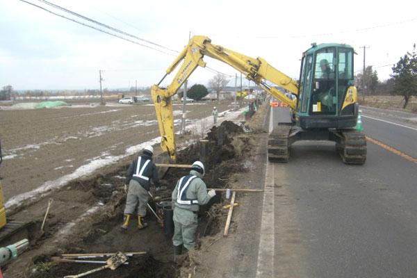 一般国道37号伊達市稀府防雪柵設置工事