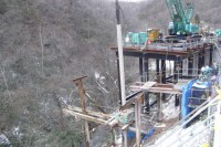 倶多楽湖公園線工事