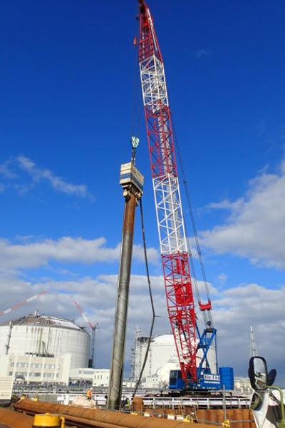 石狩LNG基地設備工事