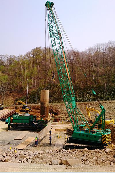 北海道横断自動車道塩谷工事